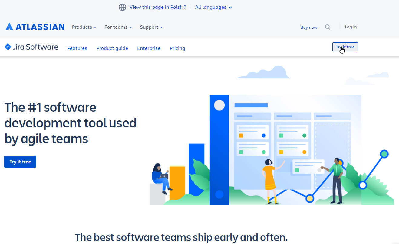 Jira try it free
