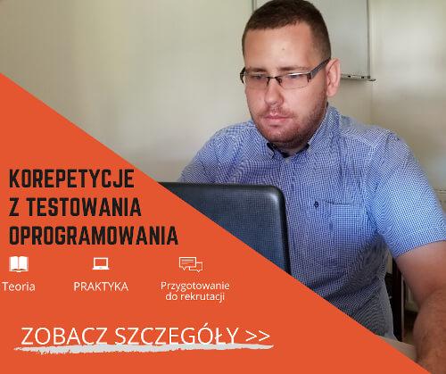 korepetycje z testowania oprogramowania teoria praktyka i przygotowanie do rozmowy rekrutacyjnej