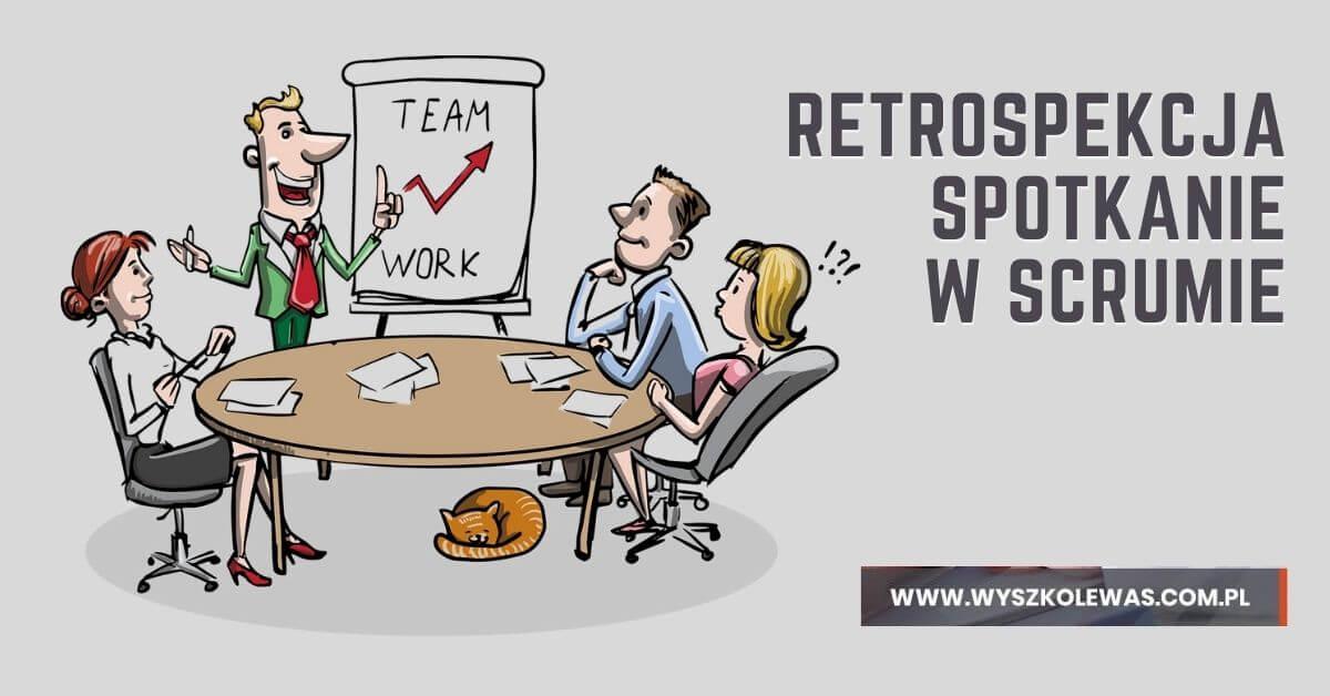 Retrospekcja Spotkanie w Scrumie całego zespołu na zakończenie Sprintu