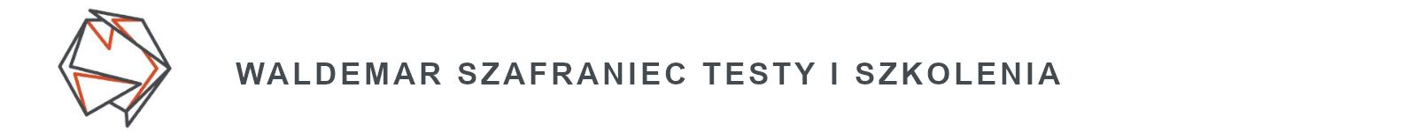 logo wyszkolewas i napis waldemar szafraniec testy i szkolenia