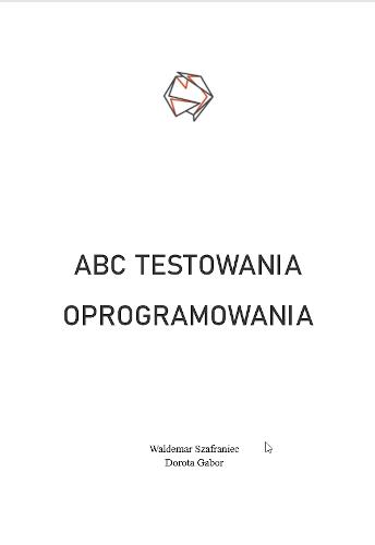 e-book ABC Testowania Oprogramowania strona tytułowa