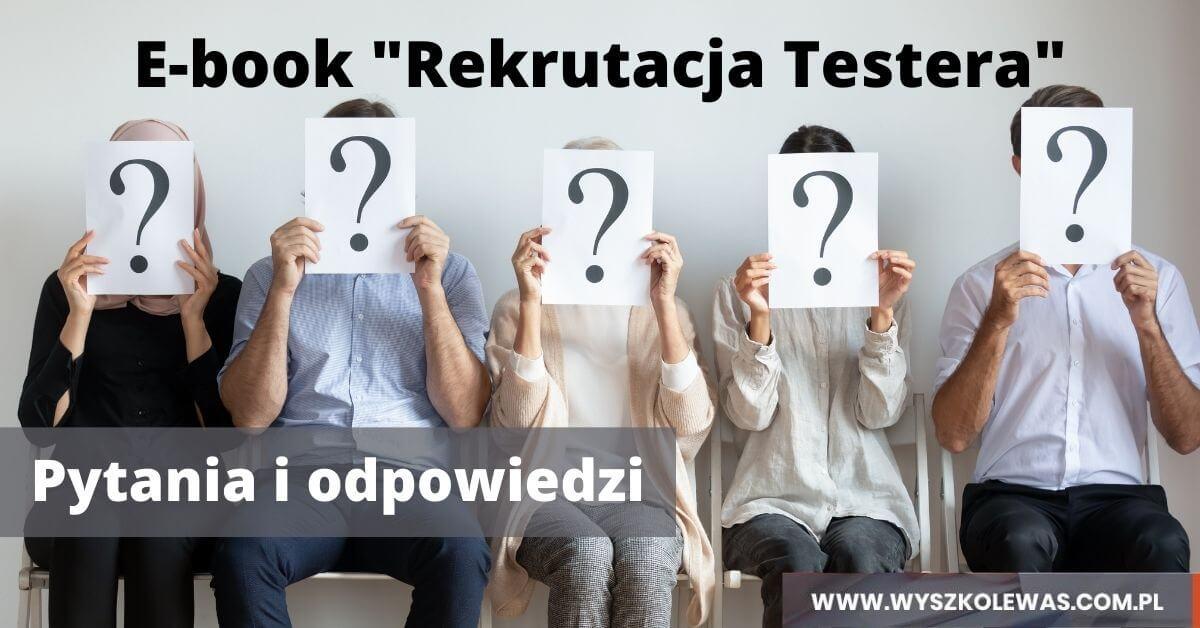 Obrazek tytułowy wpisu o ebooku Rekrutacja Testera