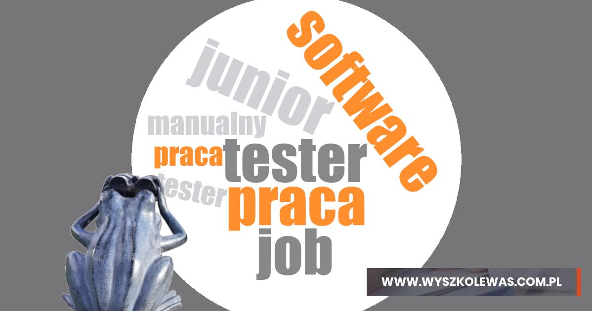 szukanie pracy jako tester oprogramowania