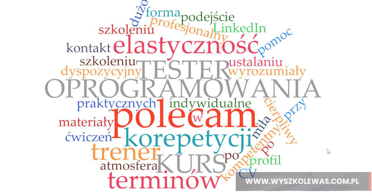 Waldemar Szafraniec wyszkolewas opinie kurs tester oprogramowania
