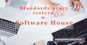 Przykładowy obraz standardów pracy testera w Software House