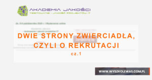 Read more about the article Akademia Jakości 2020