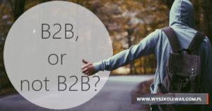 Read more about the article 7 powodów, by jako tester nie pracować na B2B