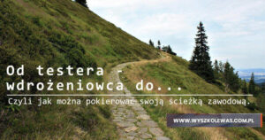 Read more about the article Od testera – wdrożeniowca do ….